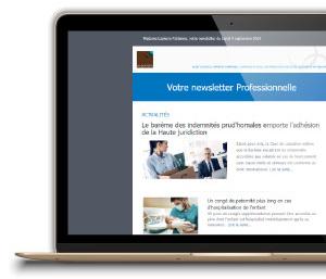 Newsletter Les Echos